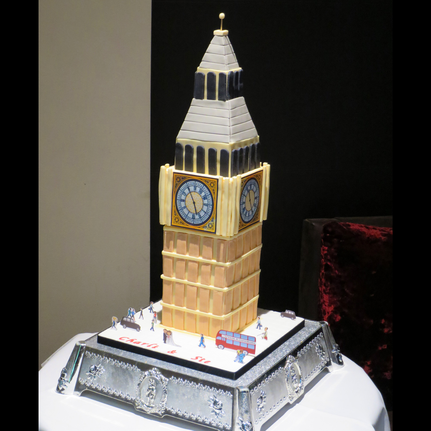 Big Ben Wedding Cake