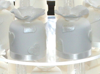Individual Mini Wedding Cakes