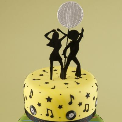 Disco Dancer Celebration Cake