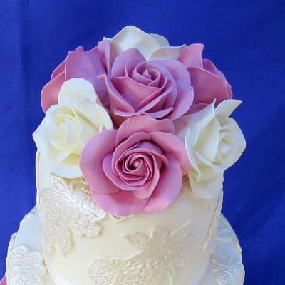 Sugar Roses Handcrafted to Order in any Colour Theme