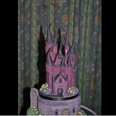 Illuminated Castle Cake Topper