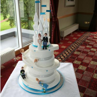 Helter Skelter Wedding Cake