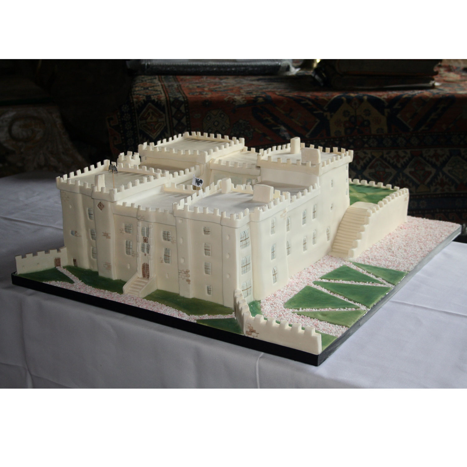 Chillingham Castle Wedding Cake