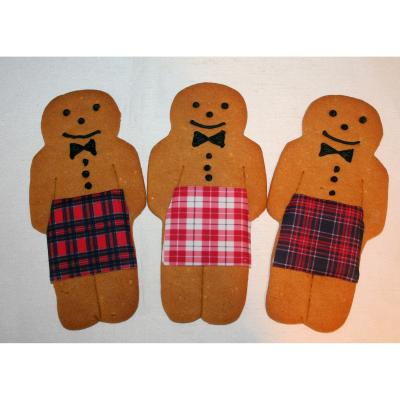Kilted Gingerbread Cookie