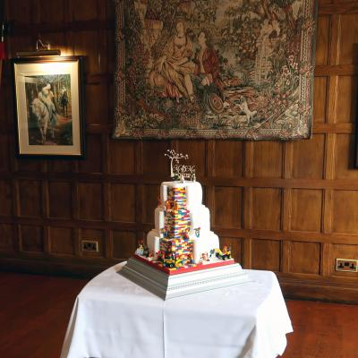 Another Lego themed Cake at Comlongon Castle