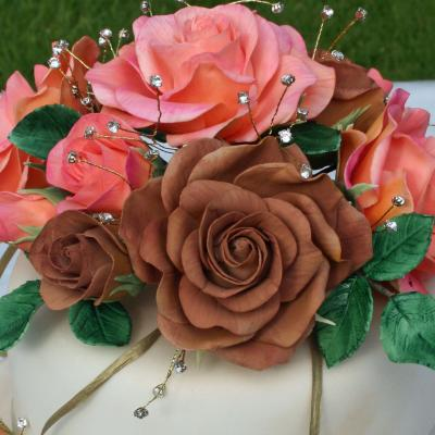 Sugar Roses with Diamantes