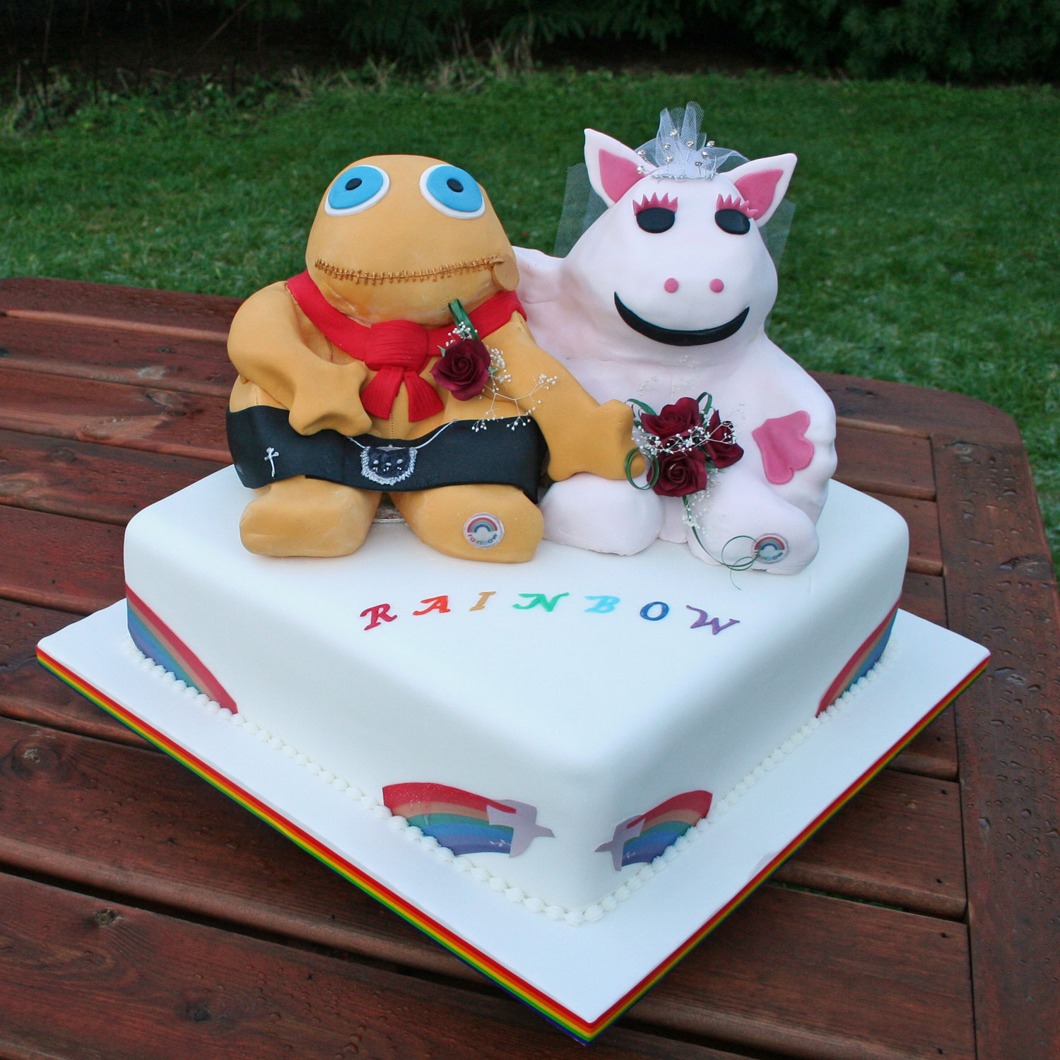 Zippy and George Cake