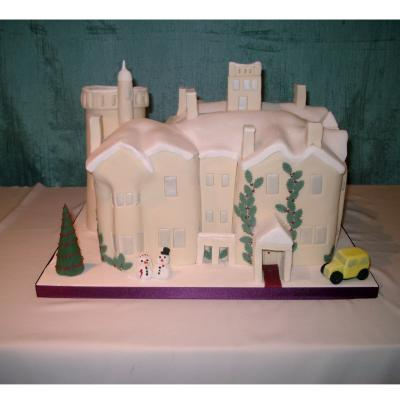 Auchen Castle Wedding Cake