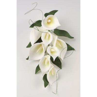 Large Calla Lily Bouquet Cake Decoration