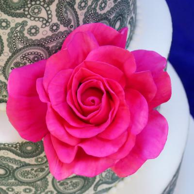 Hand-crafted Sugar Rose
