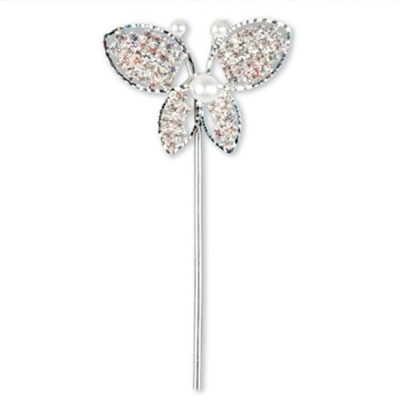 Diamante and Pearl Butterfly
