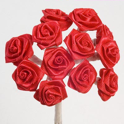 Red Ribbon Roses