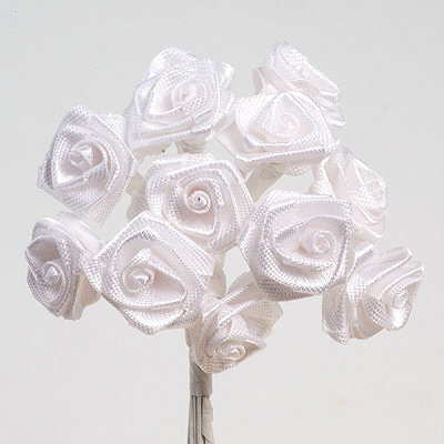 White Ribbon Roses