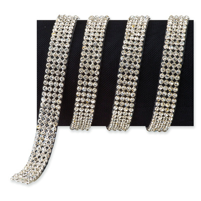 4 row Diamante Cake Trim