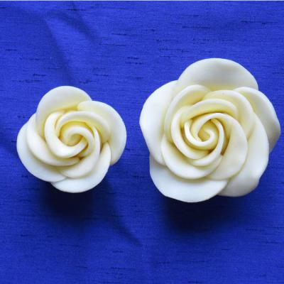 Handmade White Chocolate Rose3