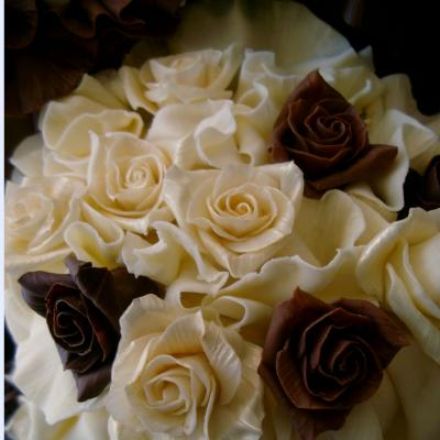 Hand Crafted Belgian Chocolate Roses