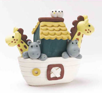Noahs Ark Cake Topper Noah's Ark Cake Topper