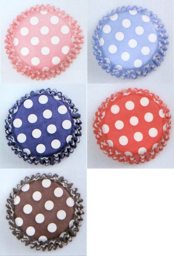 Spotty Cup Cake Cases