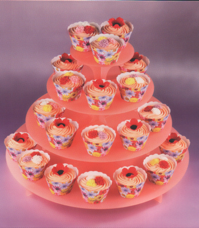 Summer Blooms Cup Cake Wraps