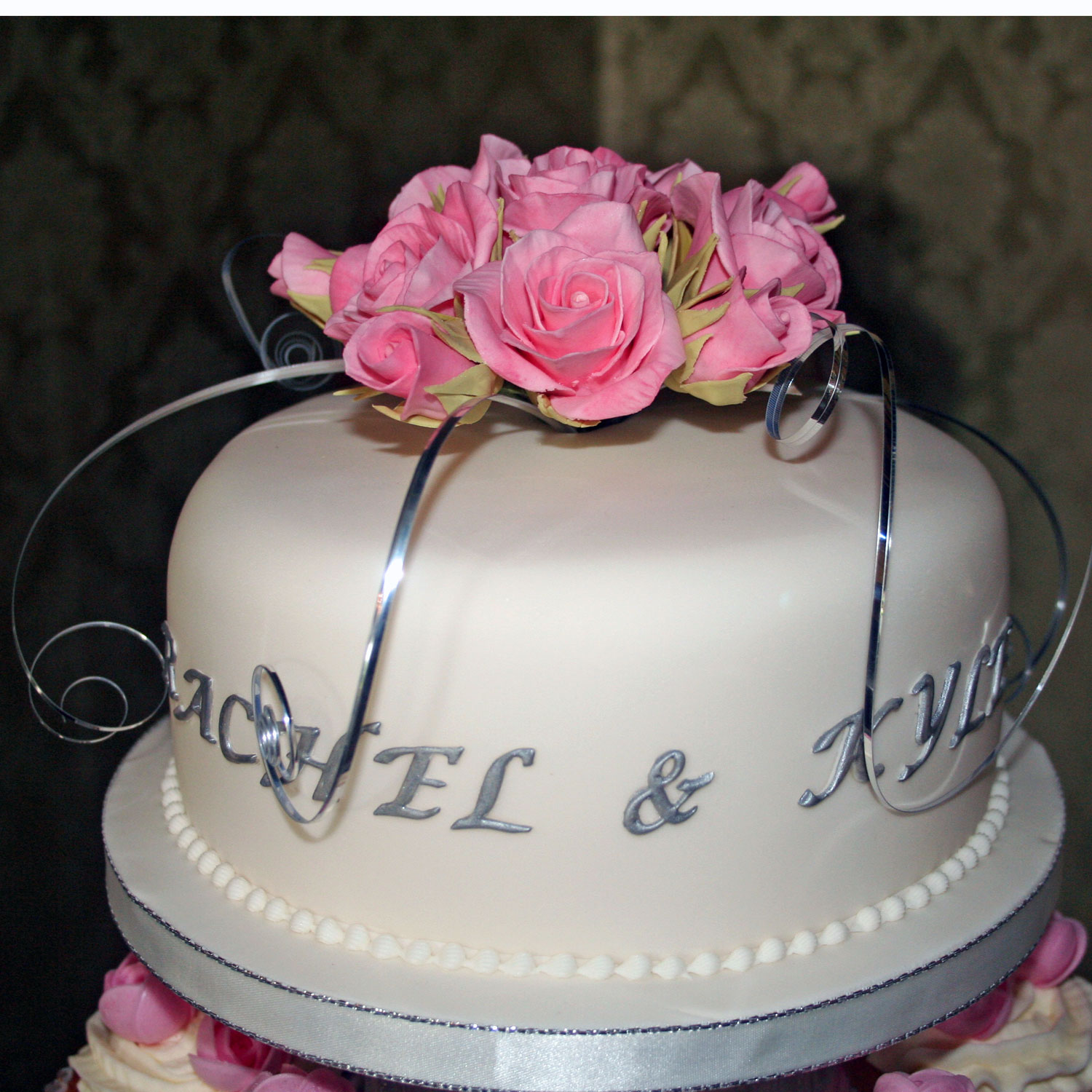 Sugarcraft Roses Cake Topper