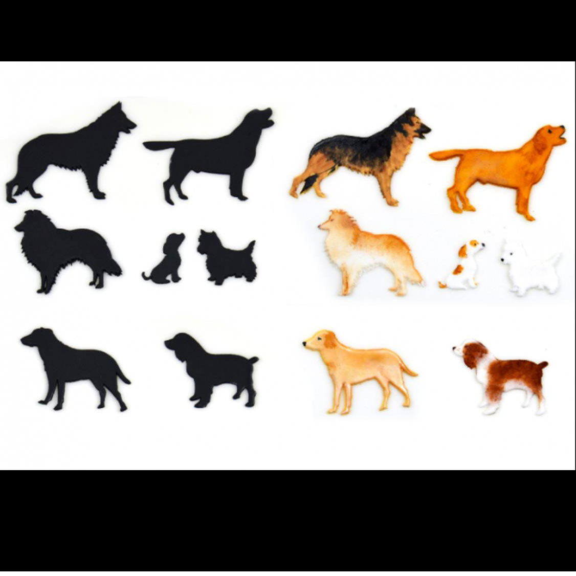 Dog Silhouette Cutter Set