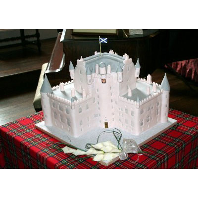 Glamis Castle Wedding Cake