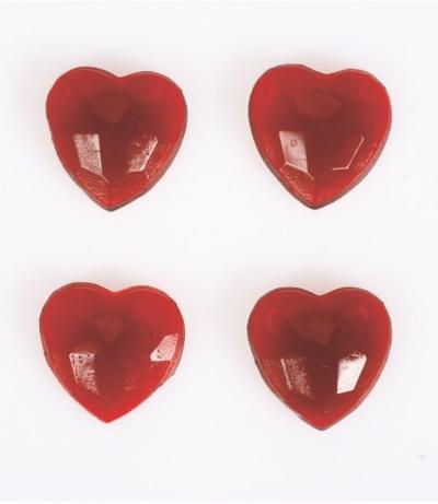 Ruby Jelly Hearts Ruby Jelly Hearts