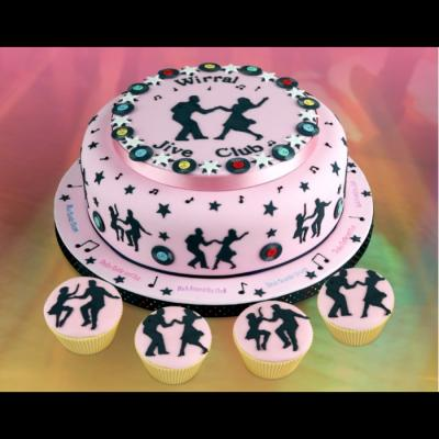 Jive Dancer Cake