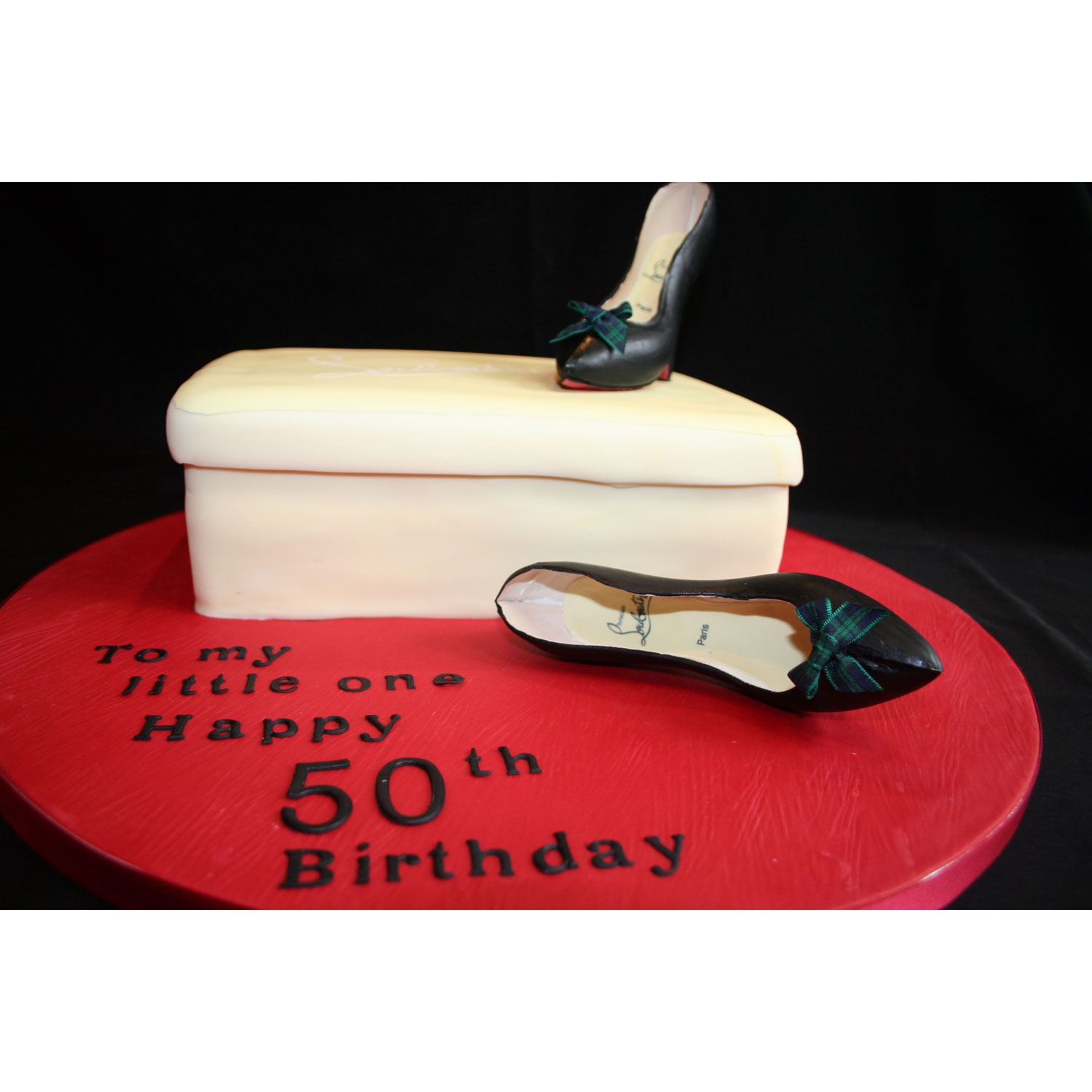Laboutin Shoes Birthday Cake