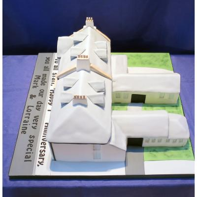 Wedding Cake design of the Loch Lomond Arms Hotel