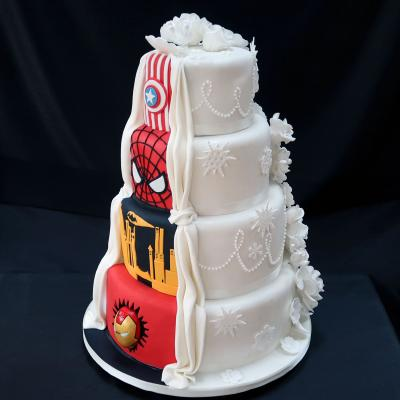 Mavel Wedding Cake