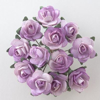 Lilac Wedding Favour Roses