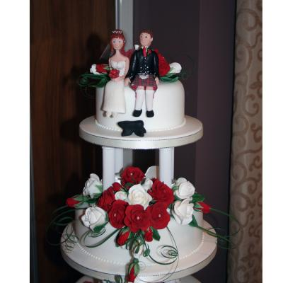 Sugarcraft Bride and Groom