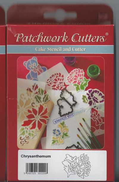 Patchwork Chrysanthemum Cutter