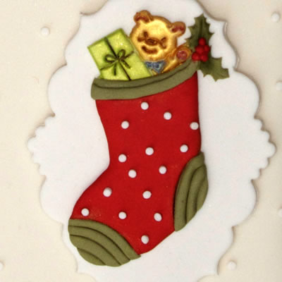 Sugarcraft Christmas Stocking