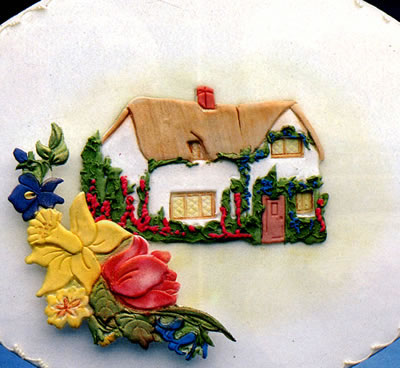Country Cottage Cake Design