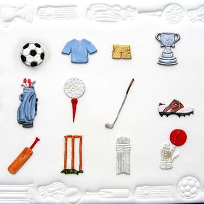 Sugarcraft Sports Set Items