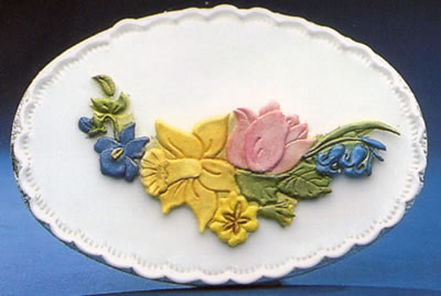 Sugarcraft Spring Flower Cake Decoration