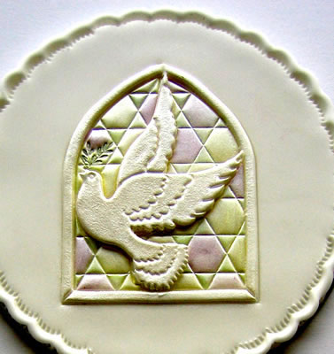 Dove of Peace sugarcraft Design