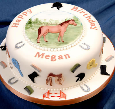 Cake made with Horse Set Cutters