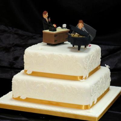 Sugarcraft Piano Cake Topper