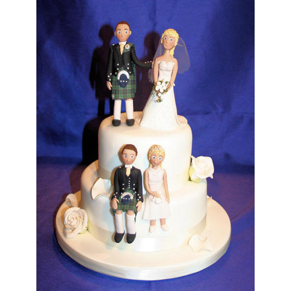 Pride of Ireland Wedding Cake