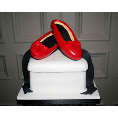 Sugarcraft Ruby Slippers.