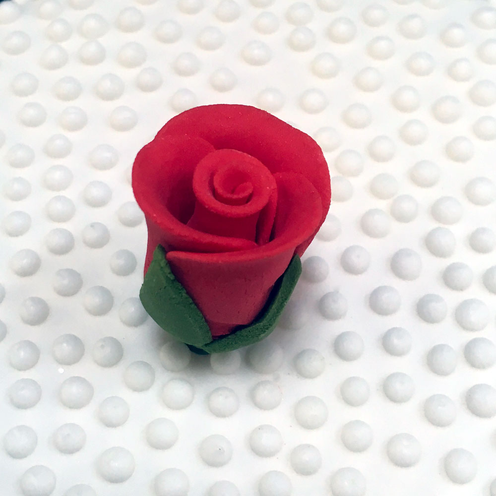 Red Valentine Rose Bud