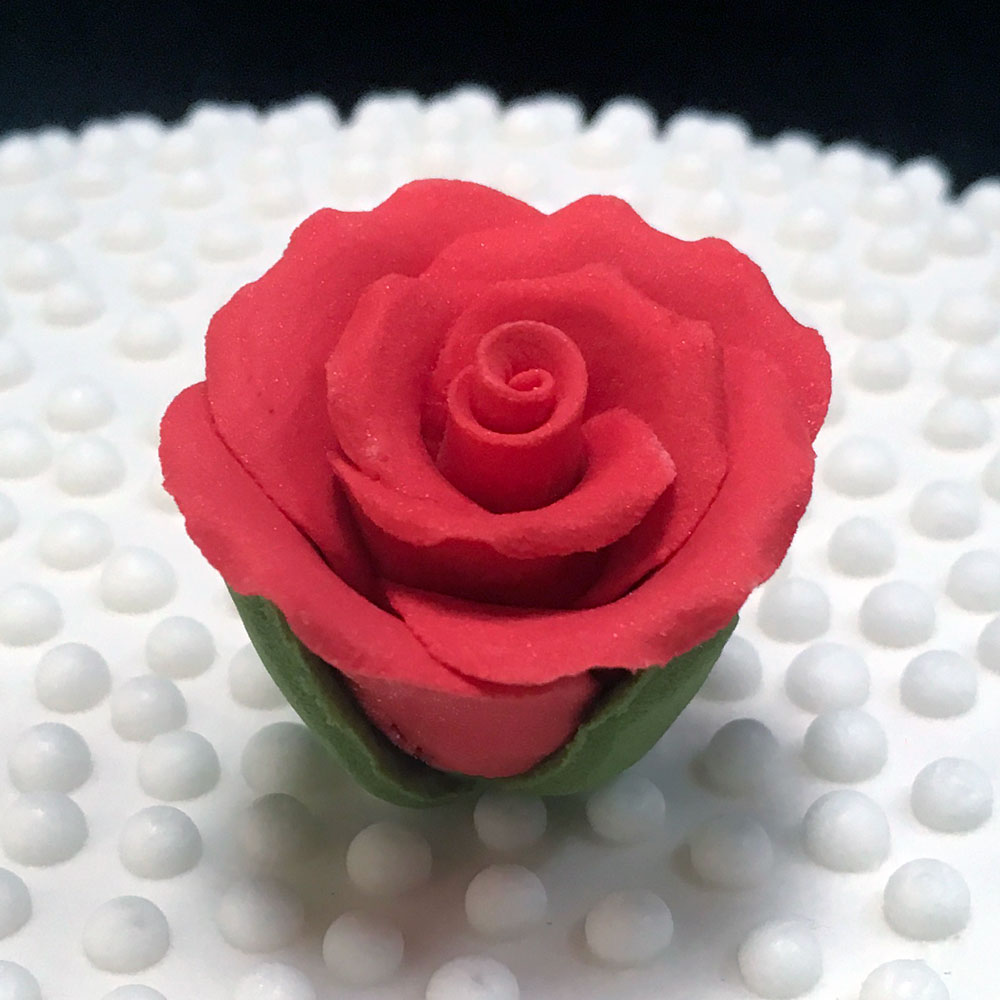 Red Valentine Sugar Rose
