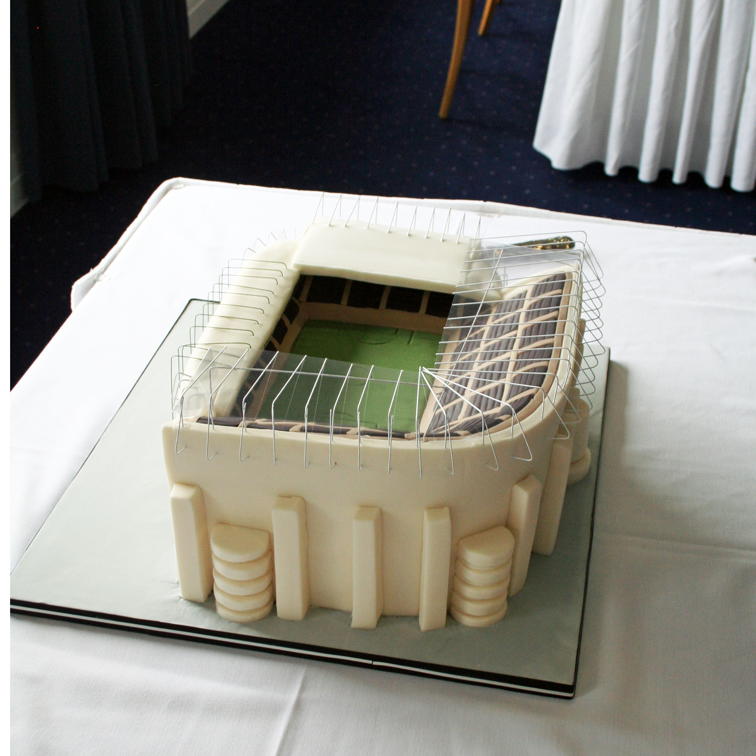 St James' Stadium Wedding Cake