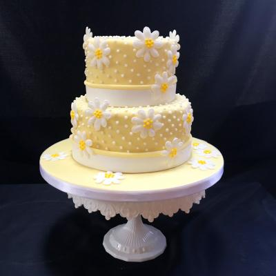 Sugar Daisy Wedding Cake