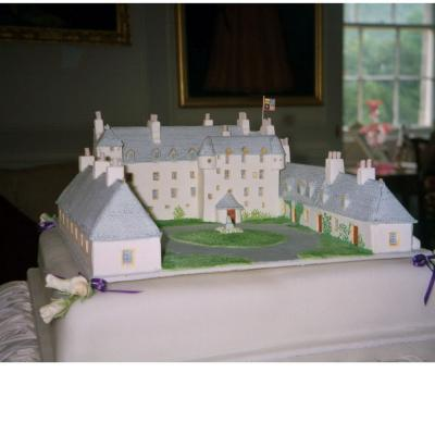 Traquair Castle Cake