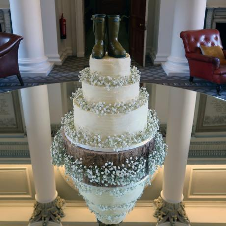 Wellies Wedding Cake