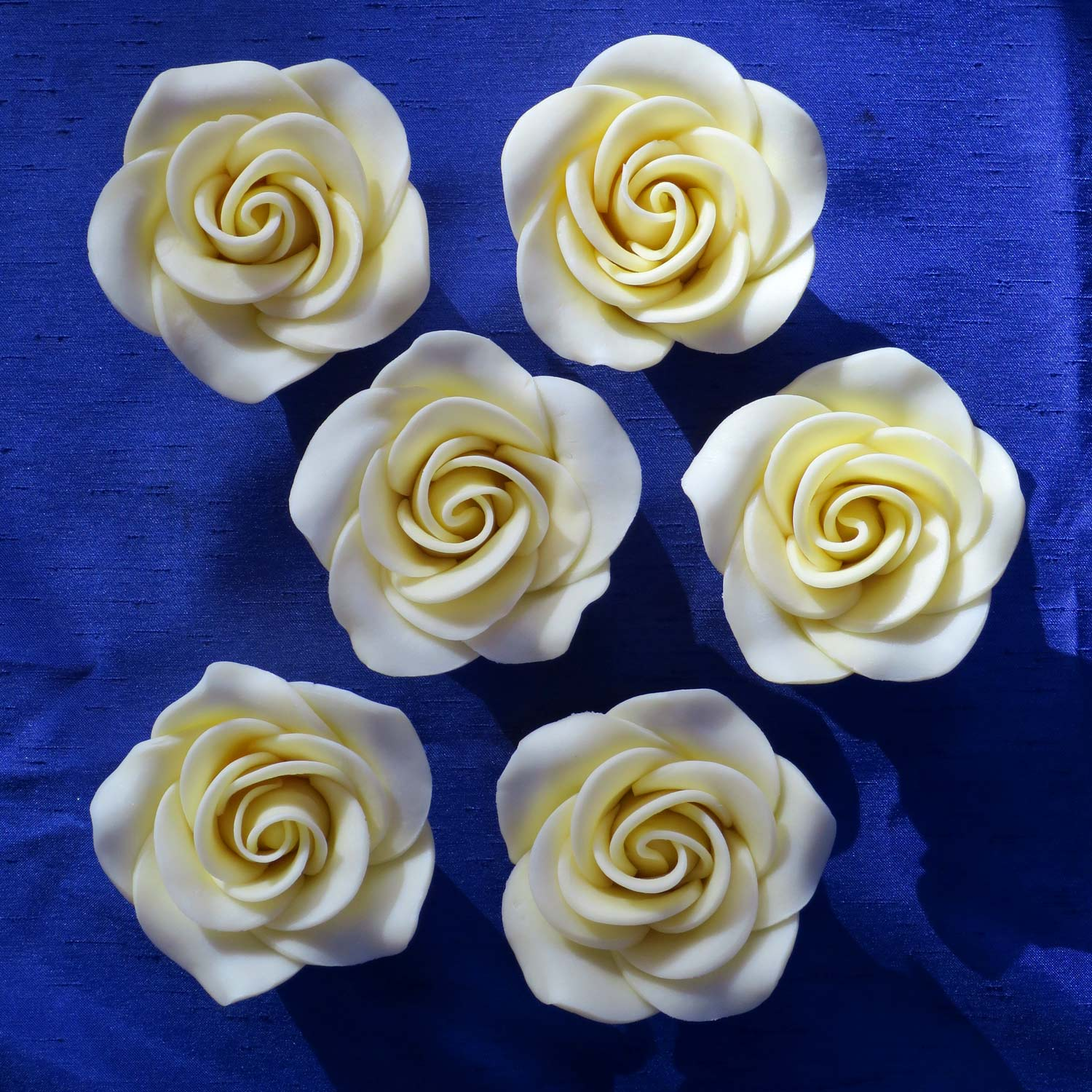 Giant White Chocolate Roses